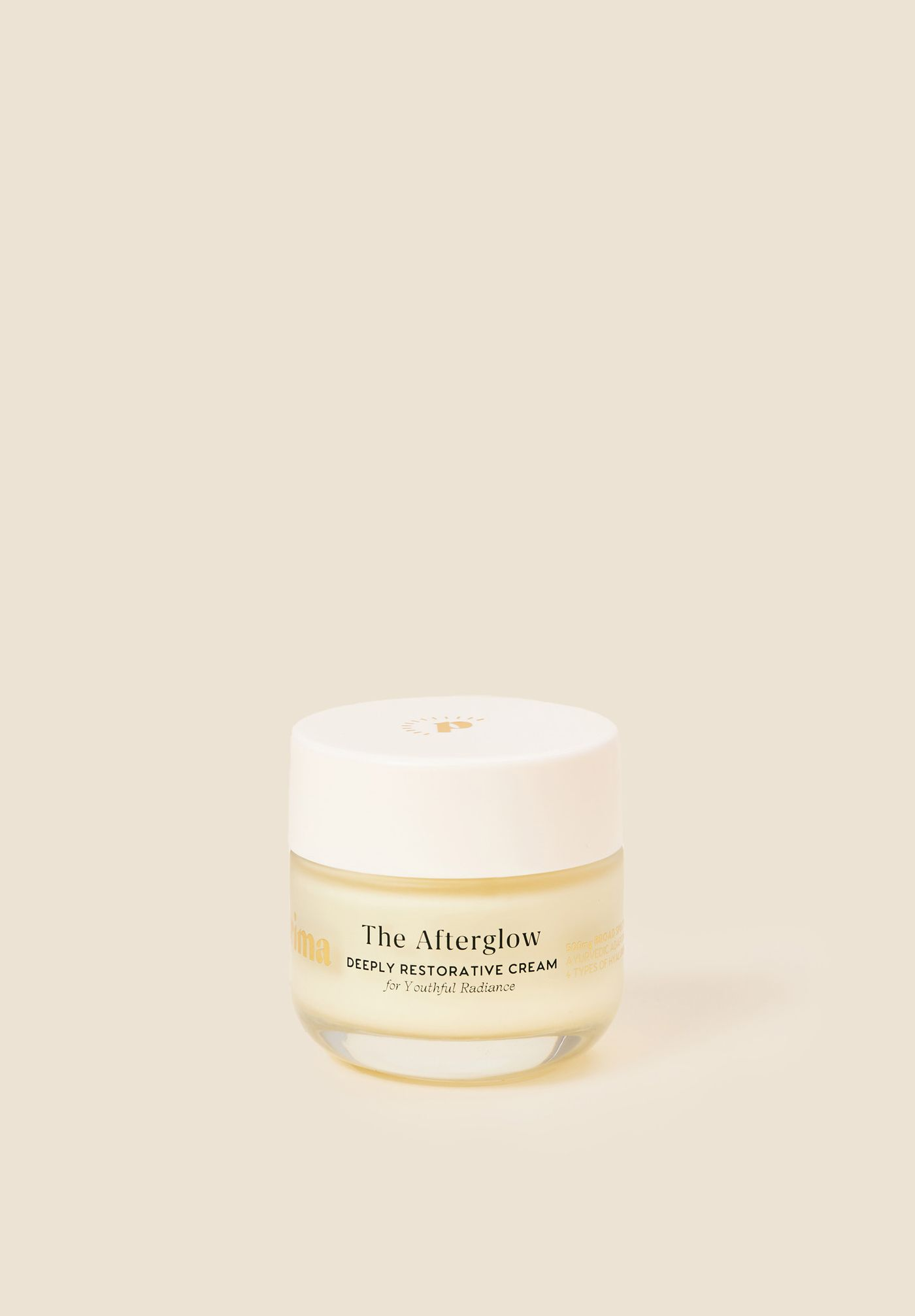 The Afterglow Cream 500mg CBD + Hyaluronic Acid