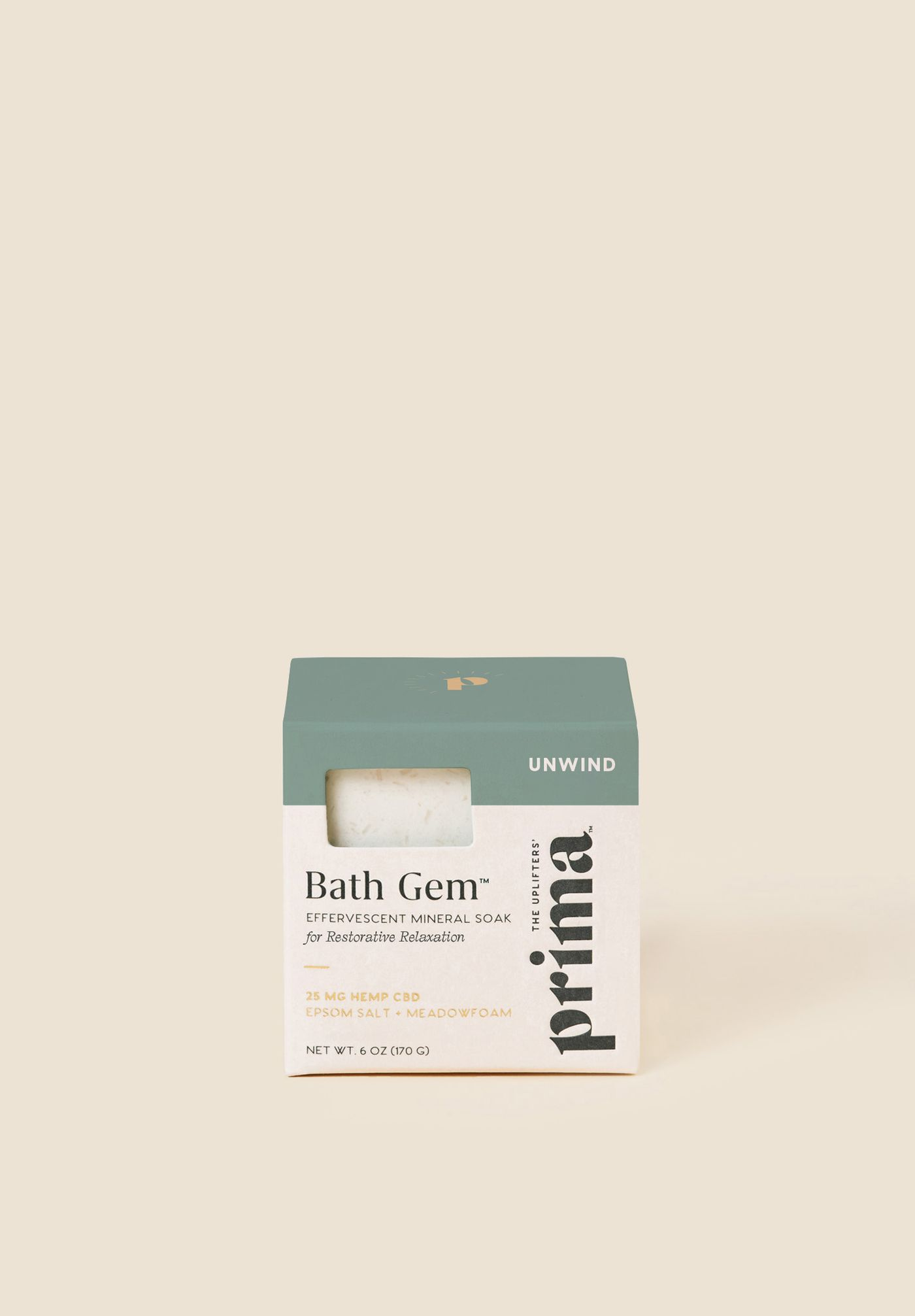 Bath Gem 25mg CBD Bath Soak