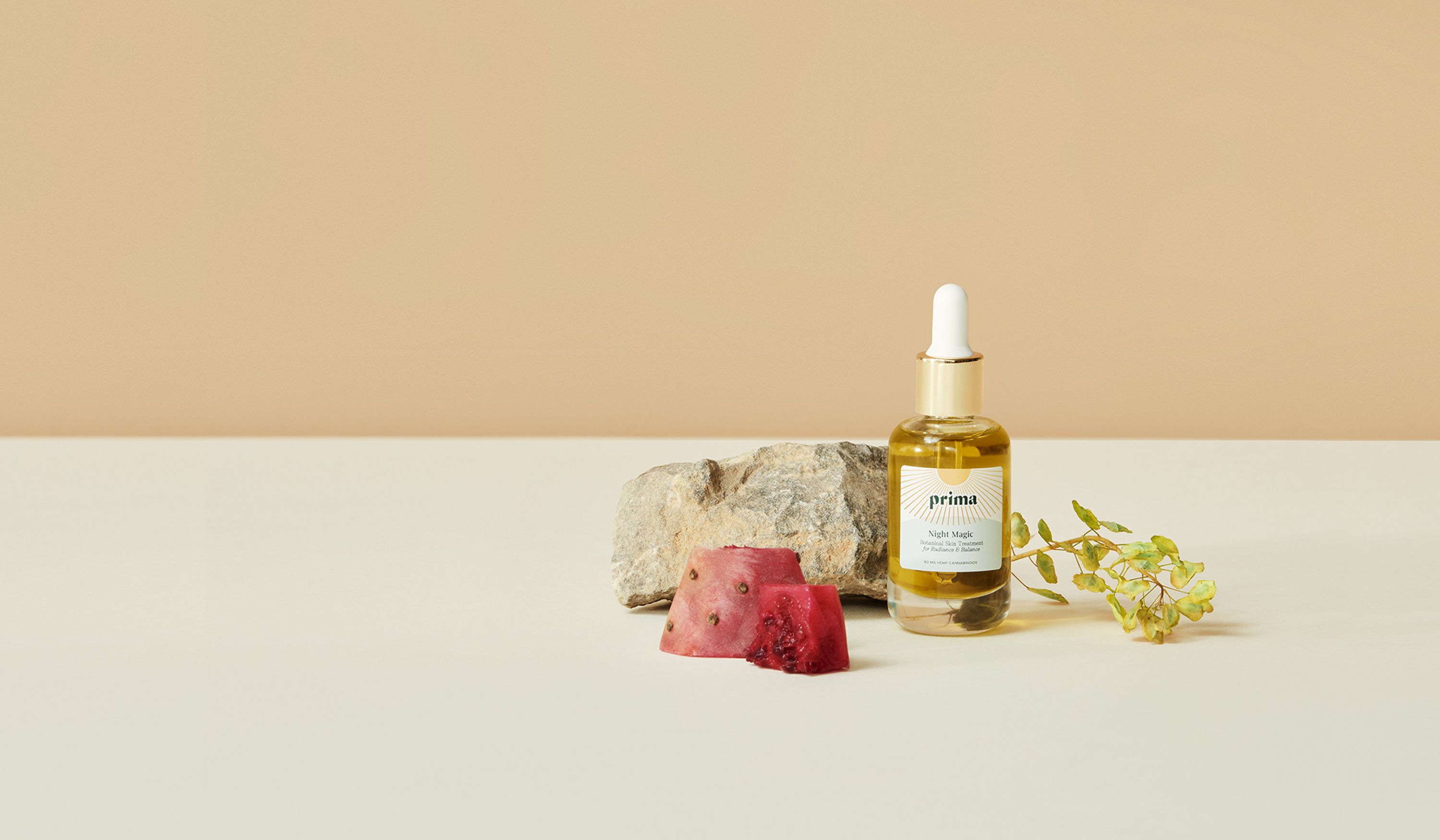 A magical overnight facial oil for smooth, glowing and balanced skin