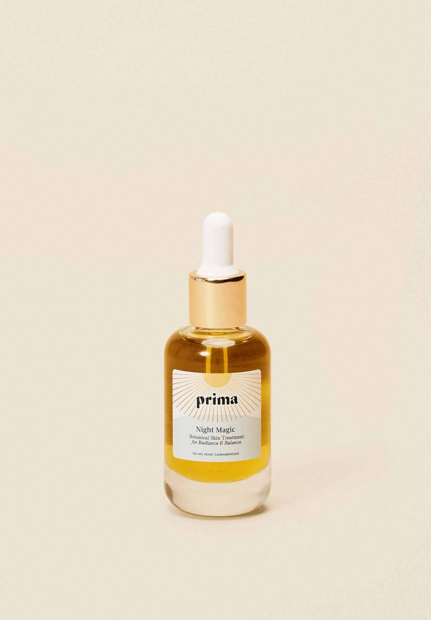 Prima's Night Magic: CBD Hemp Oil for skin