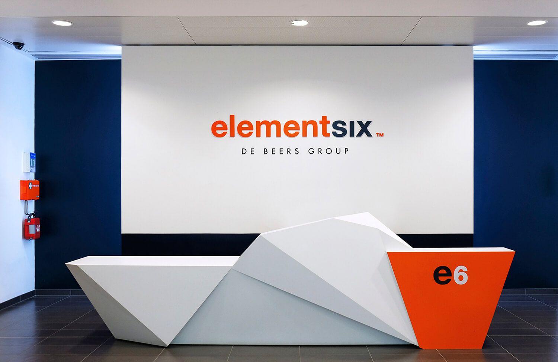 Pope Wainwright designed elementsix signage