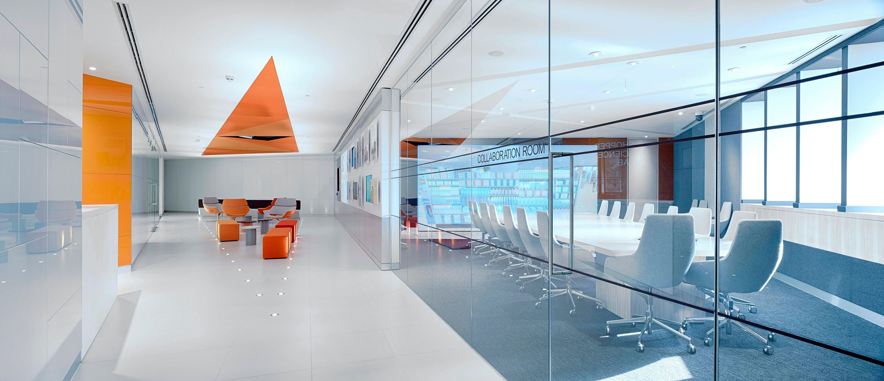 Interior of the GSK Shopper Science Lab