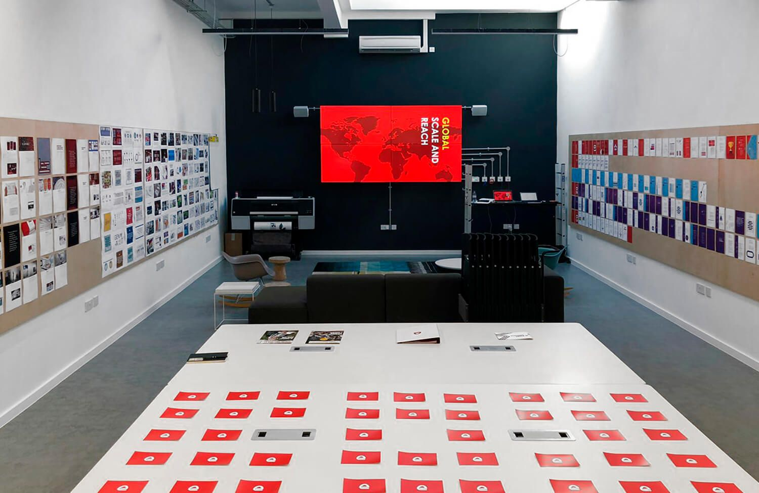 Pope Wainright's studio at an Electrocomponents branding event