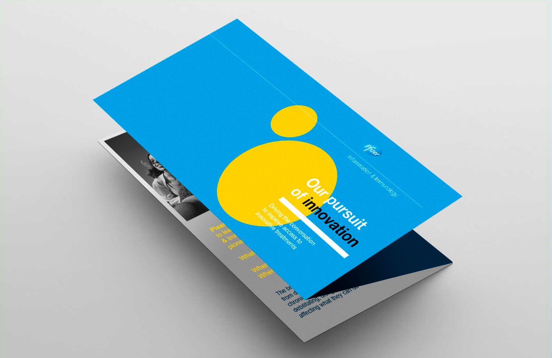 Pope Wainwright designed Pfizer pamphlet