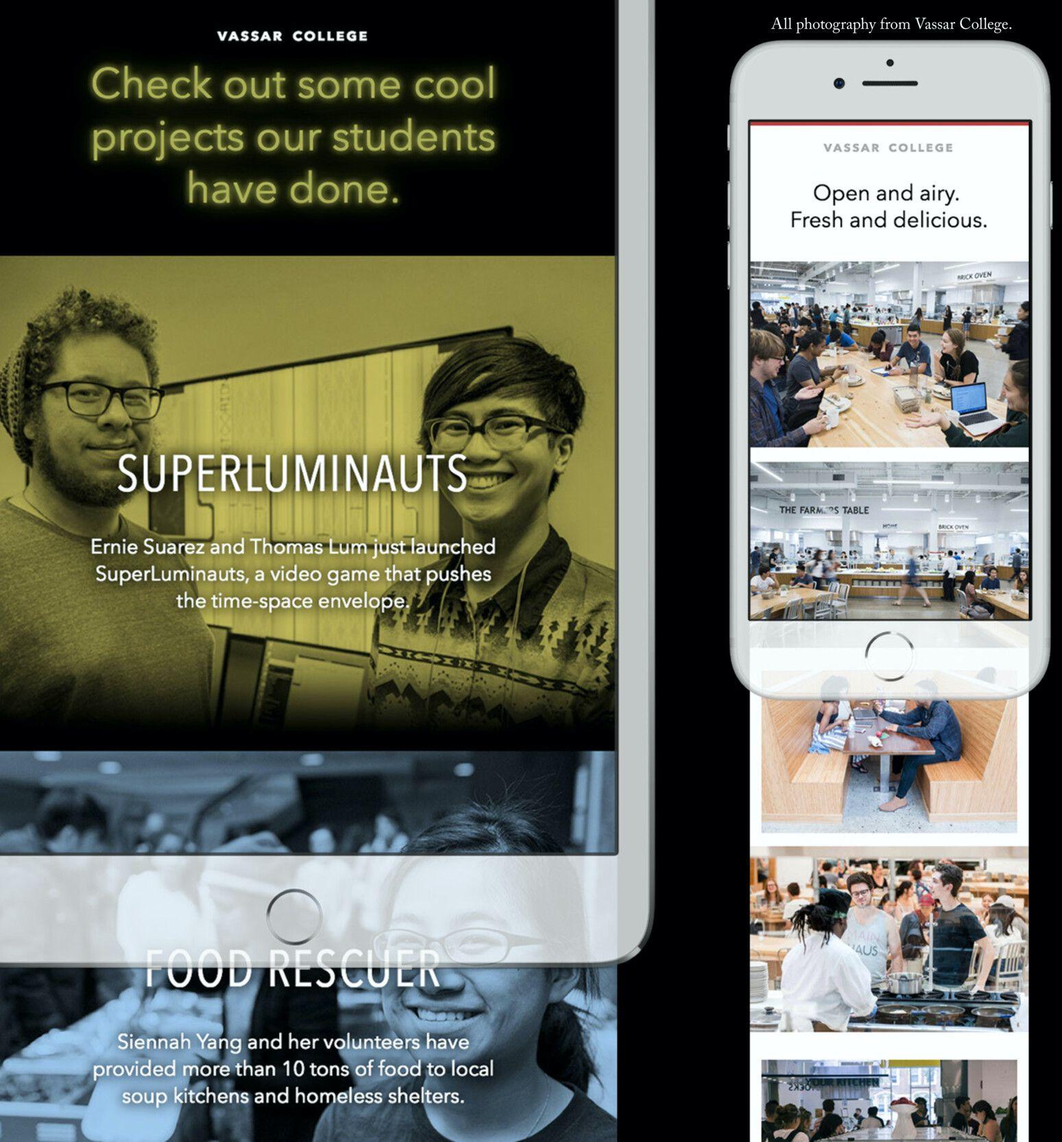 Email Design for Vassar Admissions