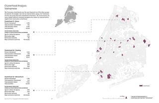 Vietnamese clusterhoods in New York.