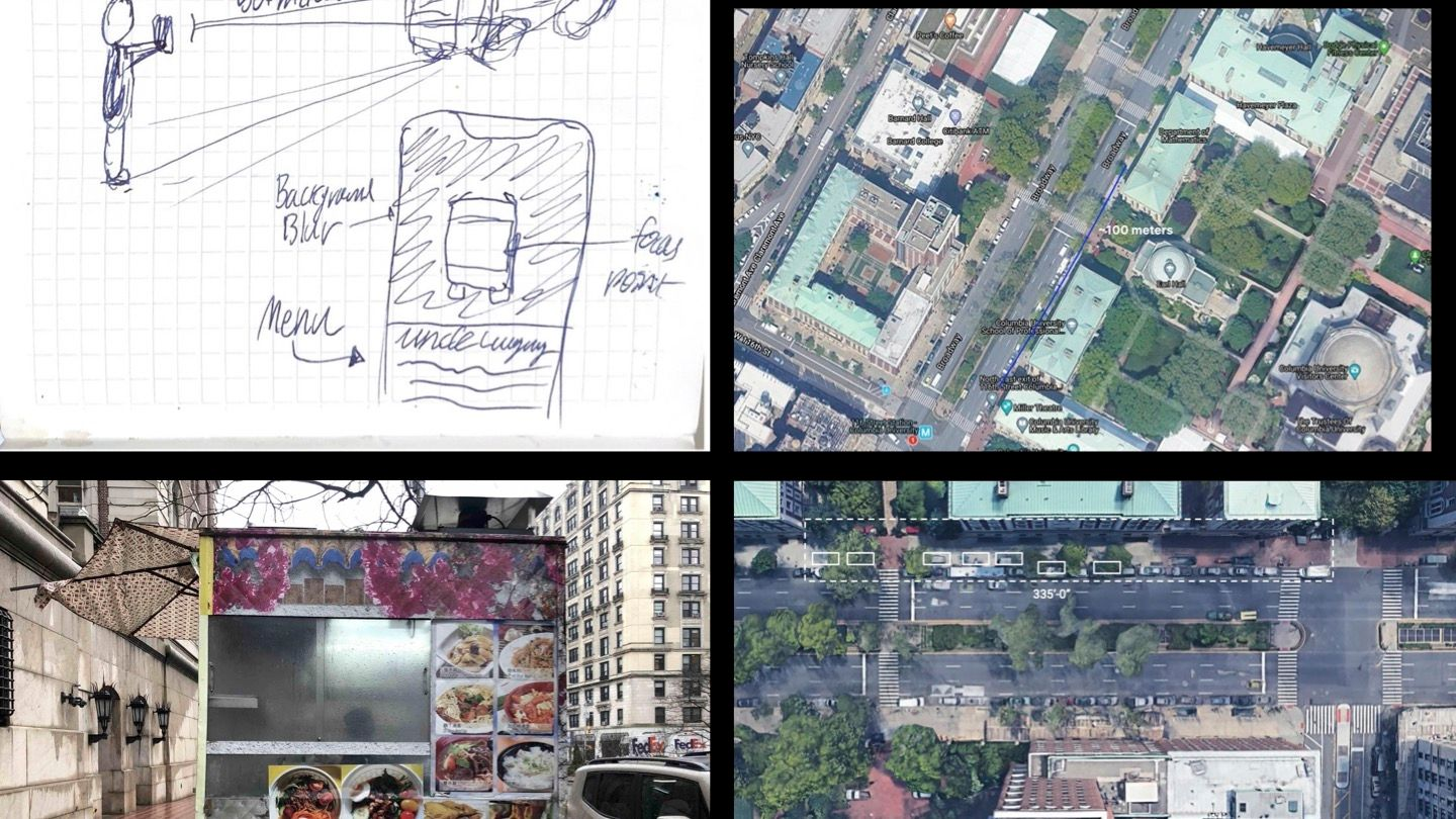 Sketches and site images