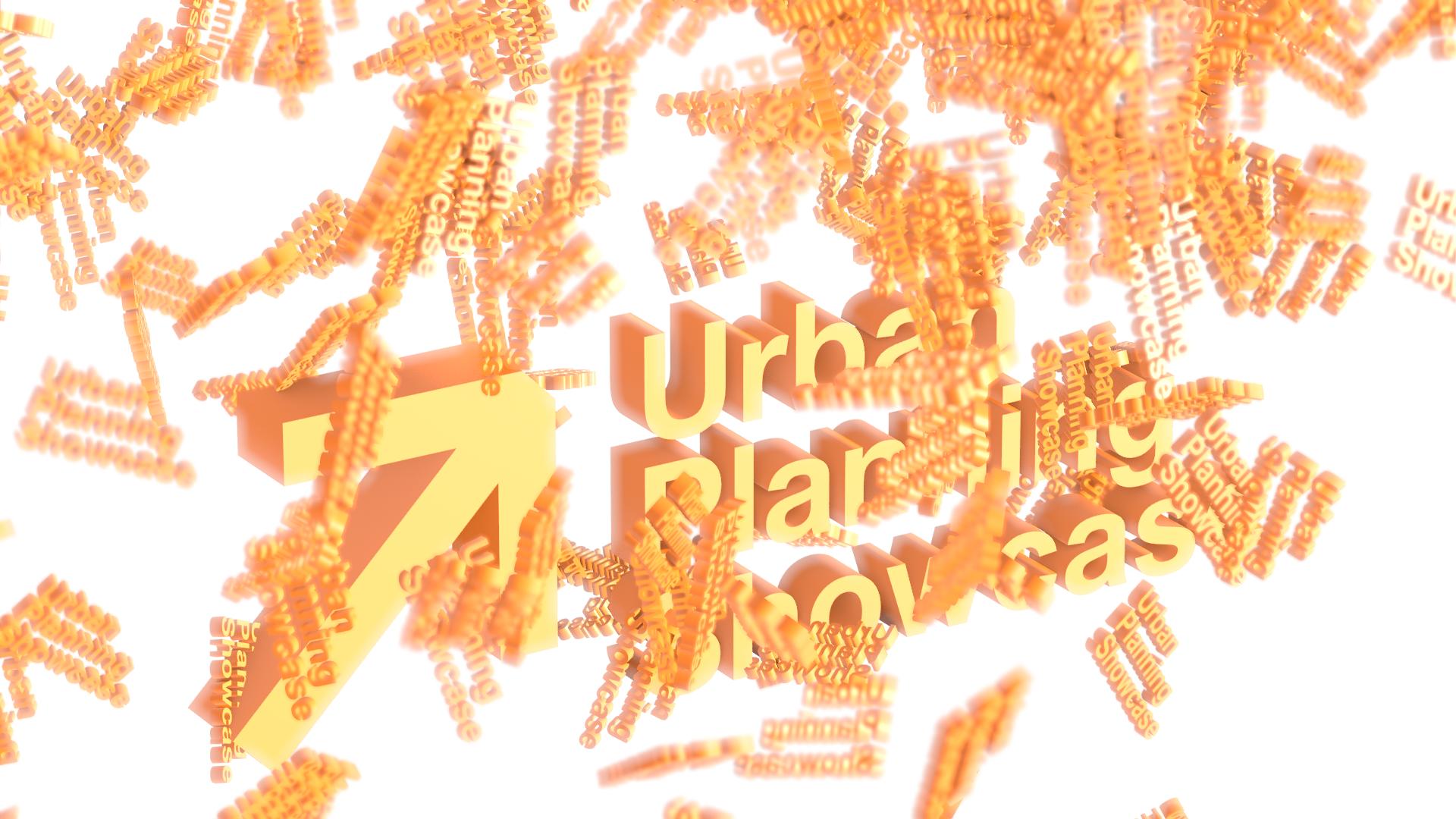 Wayfinding Graphics for Urban Planning Showcase