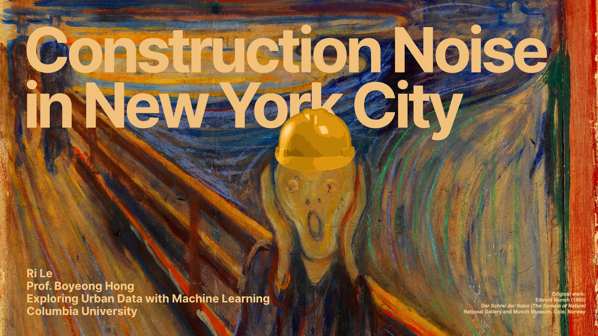 Analyzing Construction Noise in NYC
