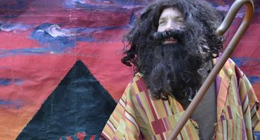 Moses character played by mainstages actor