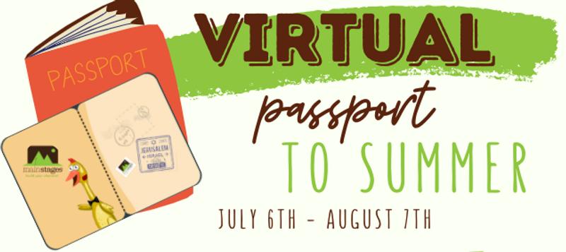 virtual passport to summer graphic