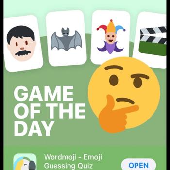 Cover Image for Wordmoji Appstore'da günün oyunu oldu