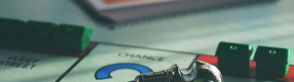 monopoly board close up image