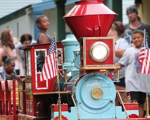 The Train at DelGrosso's Amusement Park