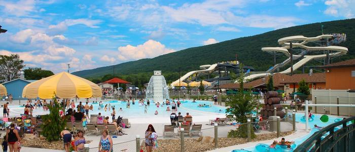 The Laguna Splash Water Park at DelGrosso's Amusement Park, Tipton PA