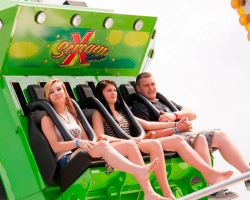 X-Scream Tower Thrill Ride at DelGrosso's Amusement Park