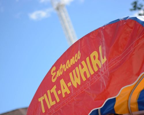 Tilt-A-Whirl Family Ride at DelGrosso's Amusement Park