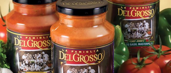 La Famiglia DelGrosso Sauce Jars