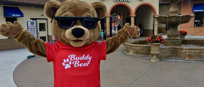 Buddy Bear at the Entrance of DelGrosso's Park