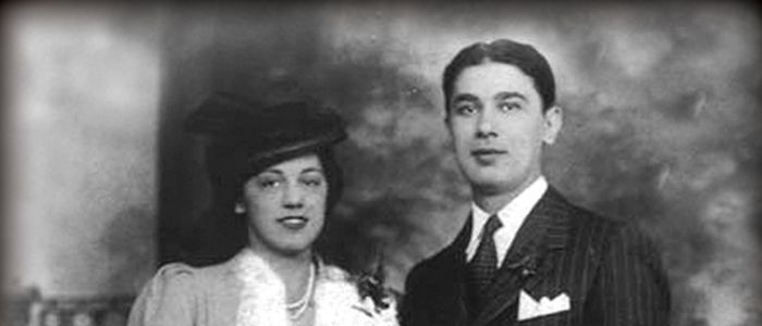 Fred and Mafalda DelGrosso, circa 1946