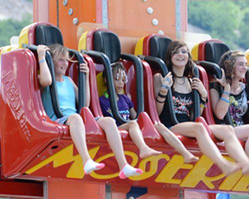 Free Fall Family Ride at DelGrosso's Amusement Park