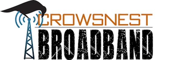 CROWSNEST BROADBAND logo