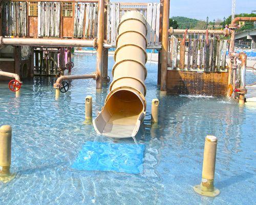 Shotgun Slide at the Laguna Splash Water Park