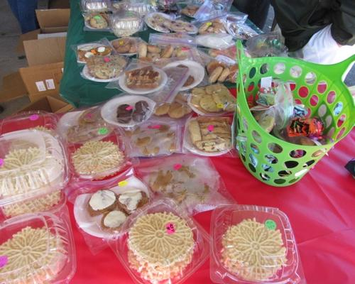 Image of Italian Cookies on a table