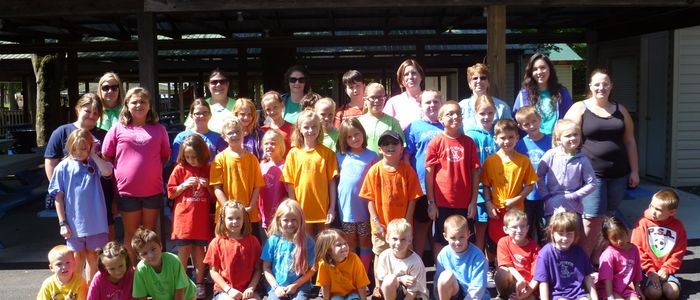 Group of kids at DelGrosso's Amusement Park