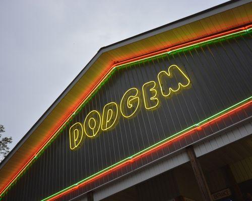 Dodgem Bumper Cars at DelGrosso's Amusement Park