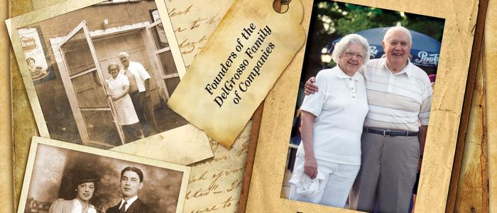 Photos of Founders Fred and Mafalda DelGrosso.
