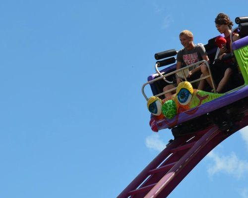 Crazy Mouse Thrill Ride at DelGrosso's Amusement Park