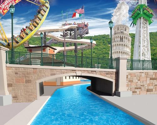 DelGrosso's Park & Laguna Splash rides and water attractions.