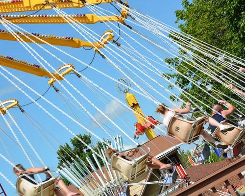 Yo-Yo Family Ride at DelGrosso's Amusement Park