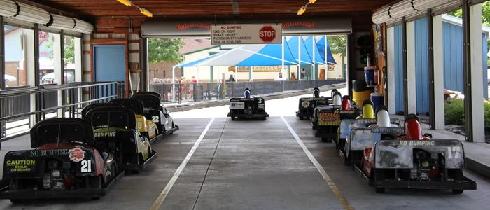 The Altoona-Tipton Go-Kart Speedway at DelGrossos's Amusement Park