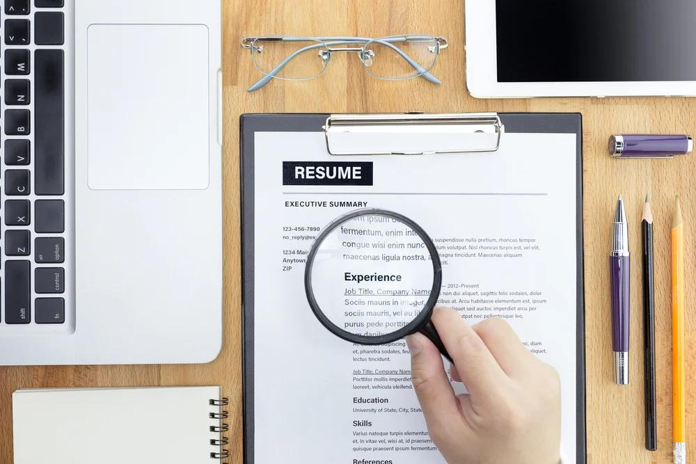 Resume Sections.