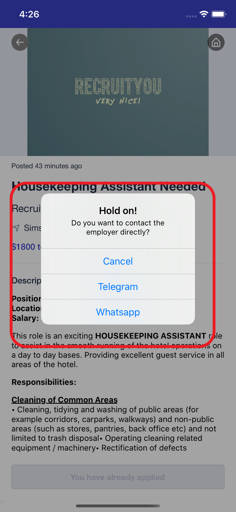 Search for full time warehouse jobs on workclass app and contact employers like DHL, Lazada and Giant!