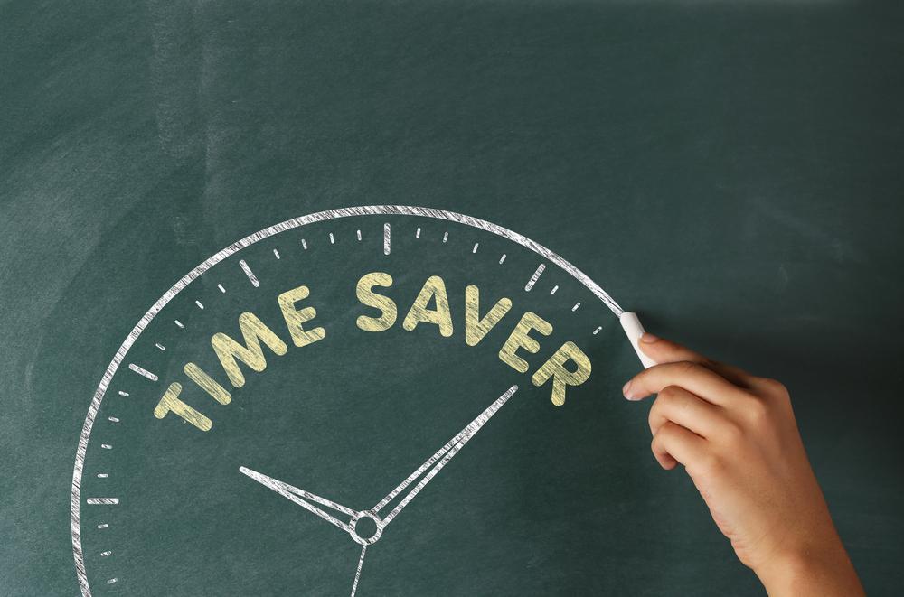 Save Time.