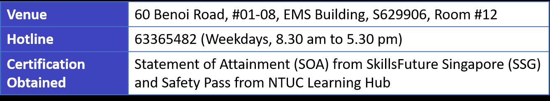 NTUC Learning Hub.