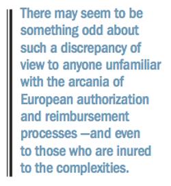 Ambition vs. Assessment: The Approval-Reimbursement Divide