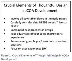 Thoughtful Design in eCOA Development: Part 2