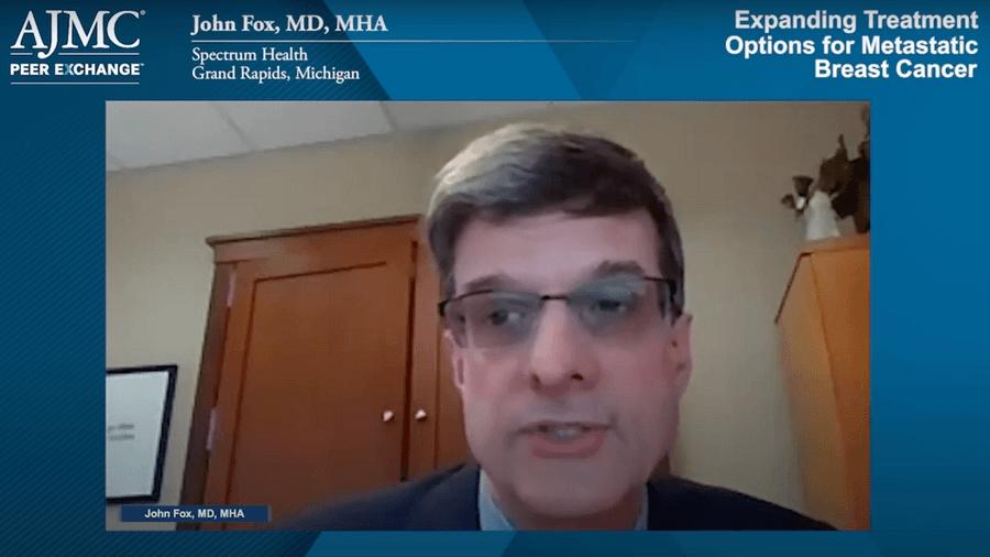 John Fox, MD, MHA, screenshot