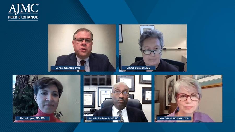 Dennis P. Scanlon, PhD; Emma Ciafaloni, MD; Maria Lopes, MD, MS; Kevin U. Stephens, Sr, JD, MD; Mary Schroth, MD, FAAP, FCCP