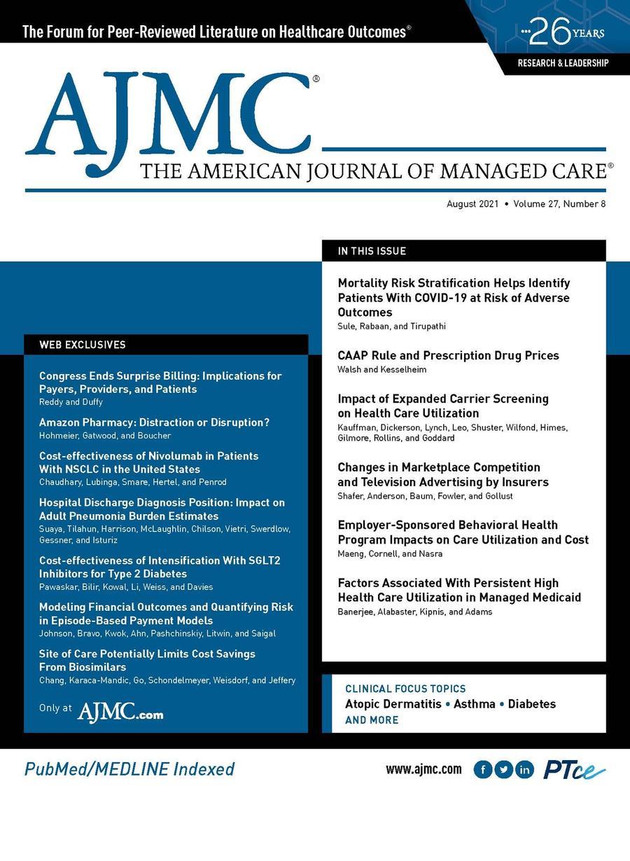AJMC August cover