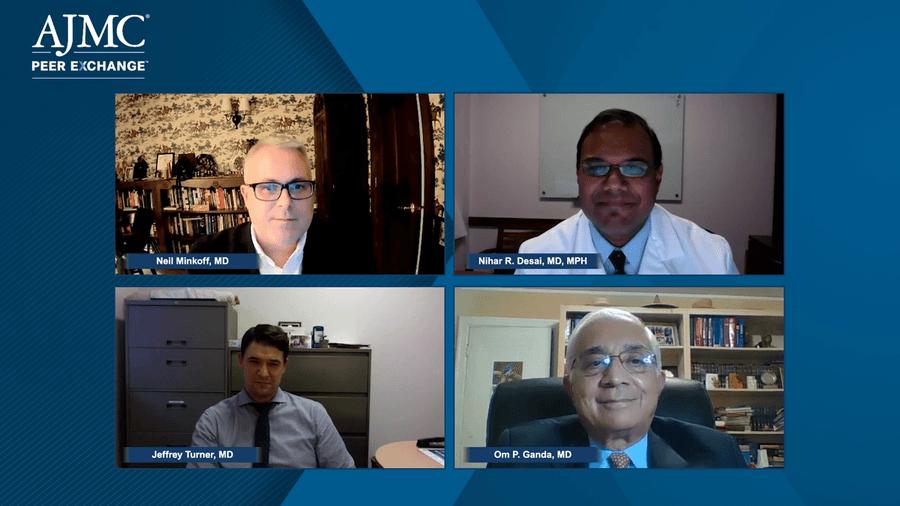 Neil Minkoff, MD; Nihar R. Desai, MD, MPH; Jeffrey Turner, MD; and Om P. Ganda, MD,