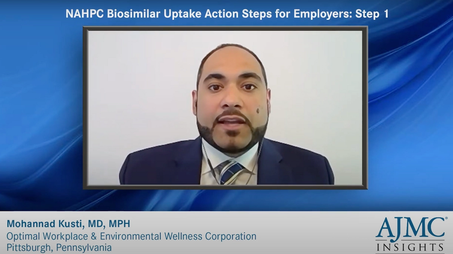 NAHPC Biosimilar Uptake Action Steps for Employers speaker headshot