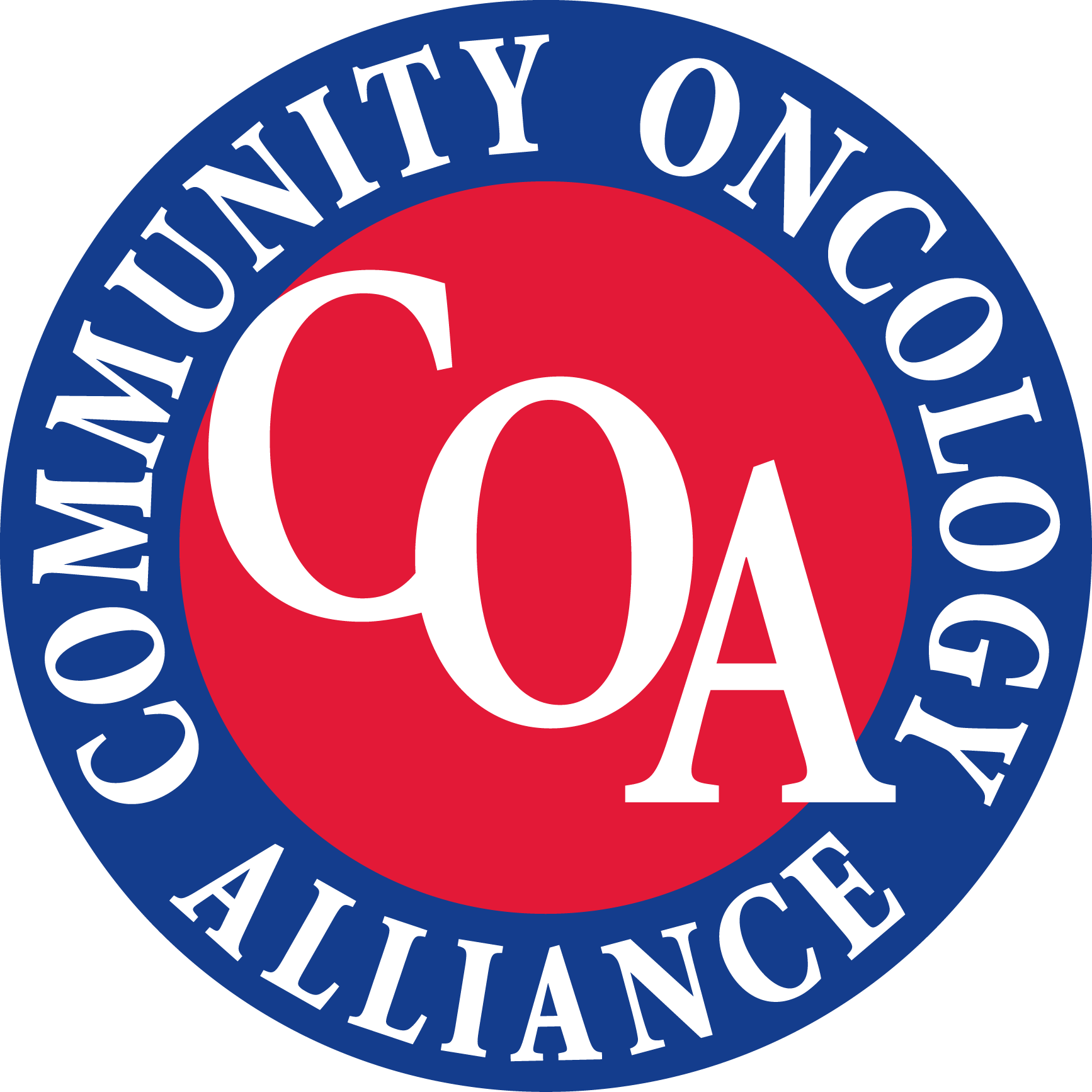 The Community Oncology Alliance (COA) logo
