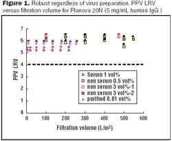 Economy and Reproducibility: Varying Virus Spike Conditions on a Planova 20N Virus-Removal Filter