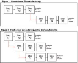 On-Demand GMP CMO Capacity through Sequential Cascade BioManufacturing