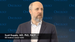 Scott Kopetz, MD, PhD, FACP, Discusses Next Steps for GI Oncology